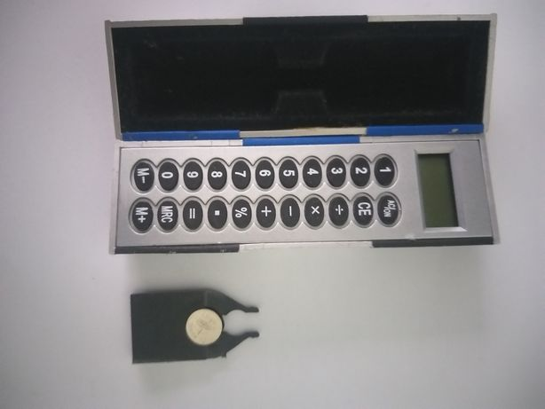 Mini calculator cu bateti