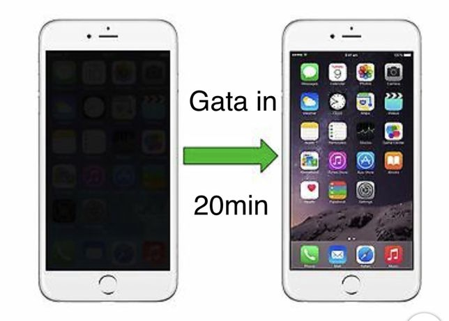 Display Sticla Geam iPhone 7 Plus 8 Xr X Xs Max 11 Pro Max.20 Minute