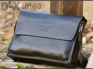 Налична! Оригинал - Polo мъжка кожена чанта - Намаление!