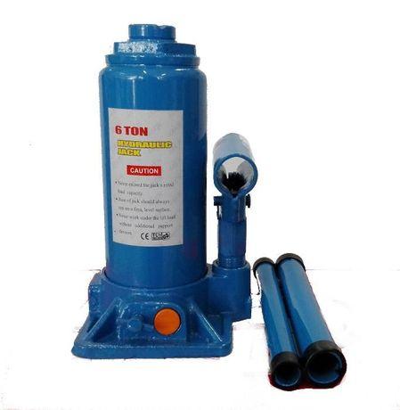 6 т Крик хидравличен бутилков с предпазен клапан