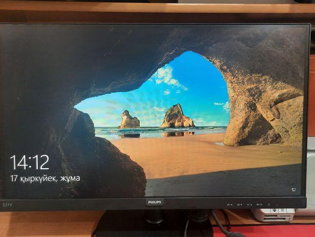 Продам игровой компьютер с монитором и со всеми комплектующими.