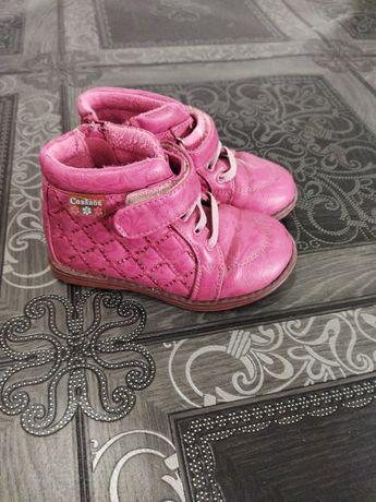 Ботиночки на девочку 23 размер