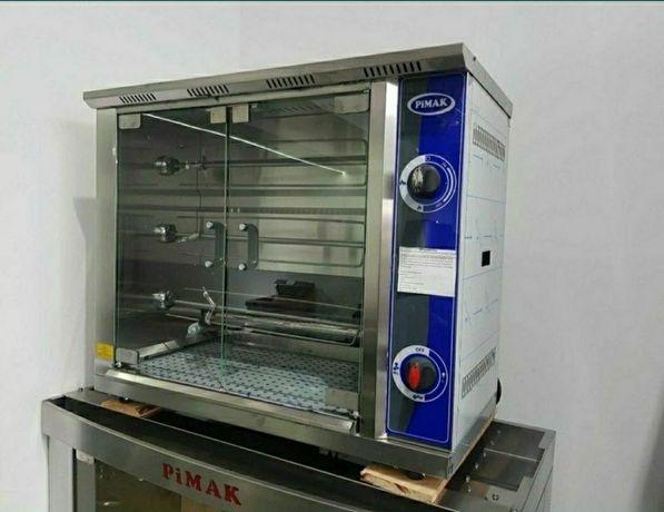 Rotisor gaz 12 pui 875x450x650mm Horeca