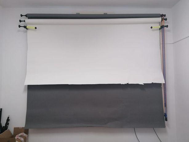 Sistem rulare 3 fundaluri foto ES-B3 + 2 fundaluri de carton
