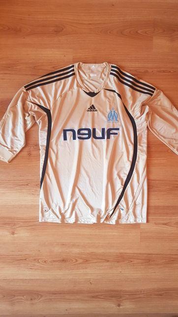 Tricou Olympique Marseilles original Adidas marimea XL