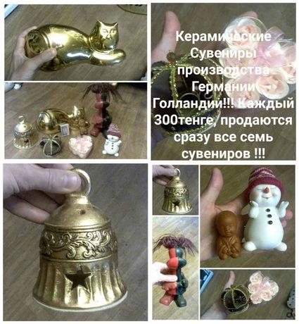 Прекрасные сувениры статуетки за бесценок