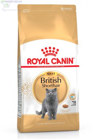 Royal Canin корм для кошек взрослых британцев