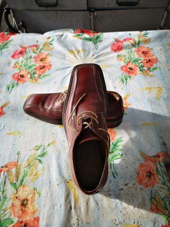 Pantofi barbati din piele originai  italieni