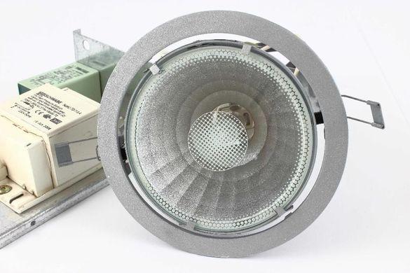 Осветително тяло за таван с метал-халогенна лампа комплект