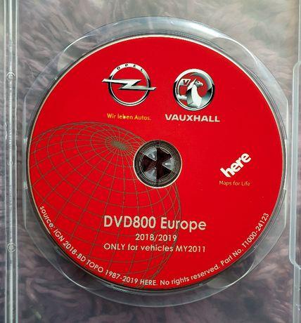 Harta navigatie GPS OPEL DVD 800 CD 500 INSIGNIA ASTRA J Romania 2021