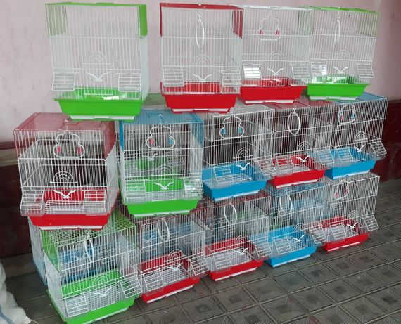 Клетки для птиц качество оригинал