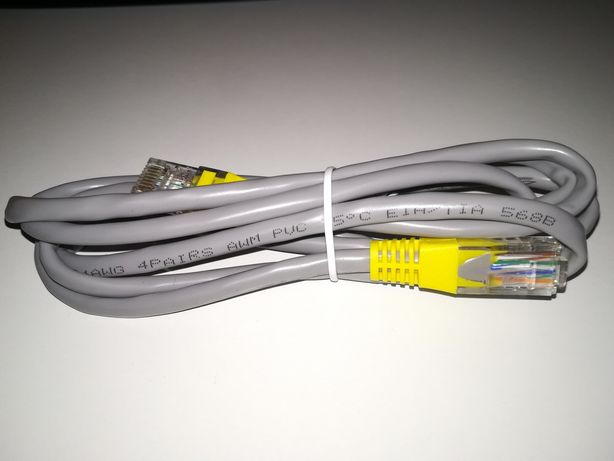 Cablu retea corespondenta pini: EIA/TIA 568B