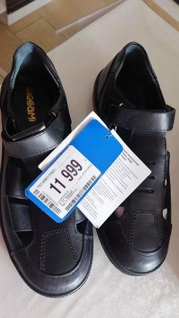 Летние, открытые туфли на мальчика, размер 37