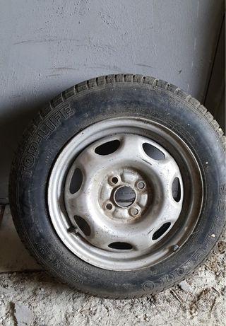 Желязна джанта шкода с гума 165 70 13
