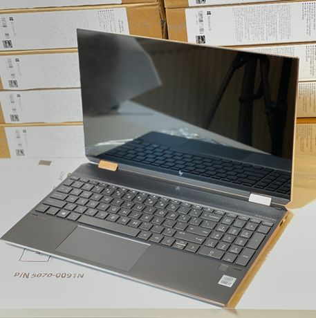"HP Spectre X360 15"" UHD 4K i7-10510U 16GB Nvidia MX330 512GB Open-Box"