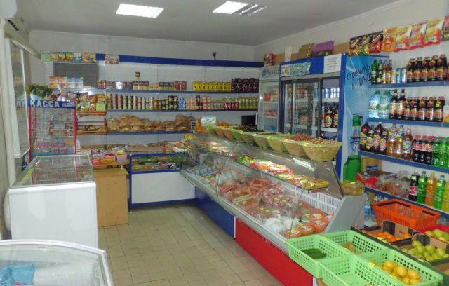 Магазин продуктовый, с овощным сдам