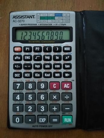 Научен калкулатор /assistant electronic calculator/