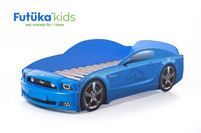 """Детская кровать машинка """"Мустанг"""" 3D Plus"""