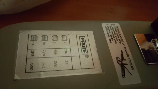 большой степлер более 100 листов
