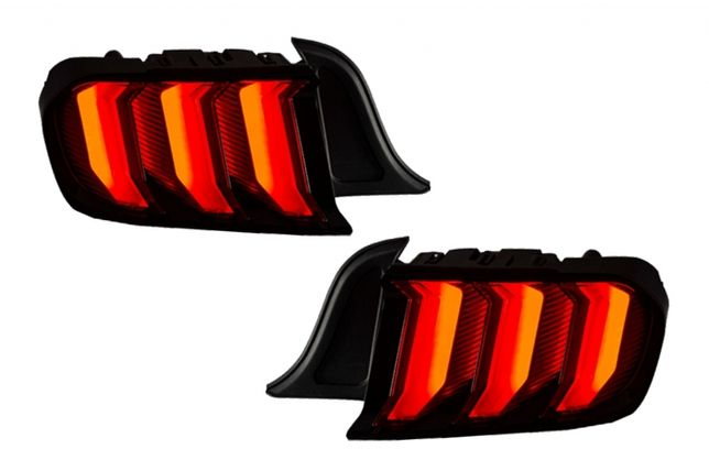 Stopuri Ford Mustang VI S550 (2015-2019) Full LED Semnal Dinamic
