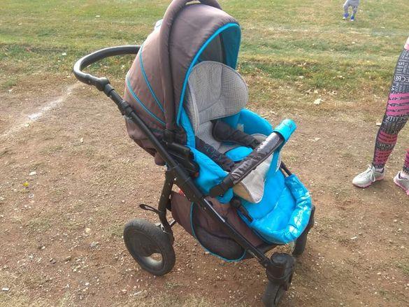Продава детска количка zippy sport tutis 3 в 1