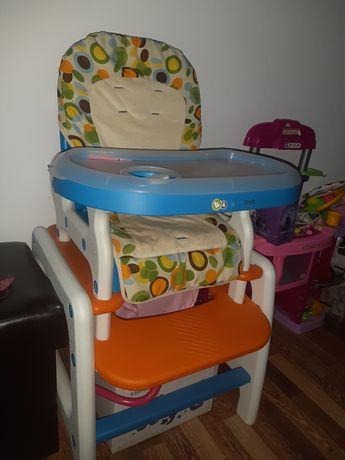 Scaun masa copii kinderkraft