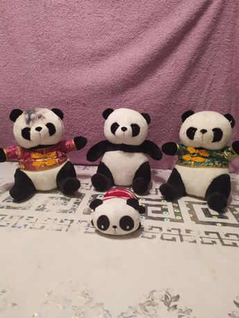 Панда игрушка мягкая