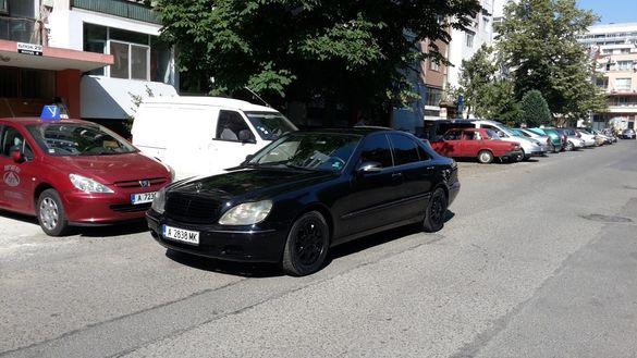 MERCEDES S 320 CDI дизел 197 кс. 2001 год. ЗАМЯНА / БАРТЕР