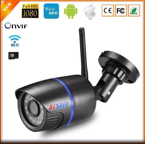 BESDER Camera Exterioara IP Wifi 1080P ONVIF Wireless 2,8 mm
