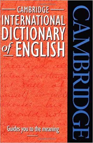 Dictionar englez avansati- Macmillan. Include CD si Cambridge