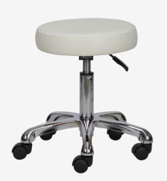 Козметичен стол табуретка Orbita XXL - педикюр 37/43 см