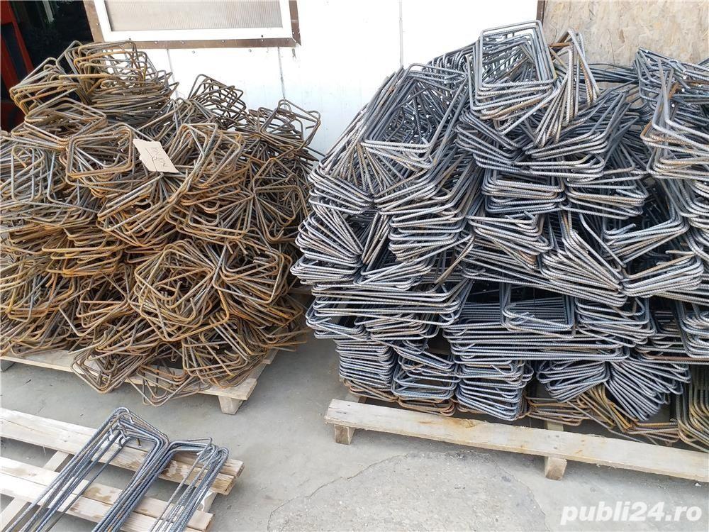 Etrieri din fier beton striat de 8mm 16/25 3 lei 20x20 15x15 10x10 20x