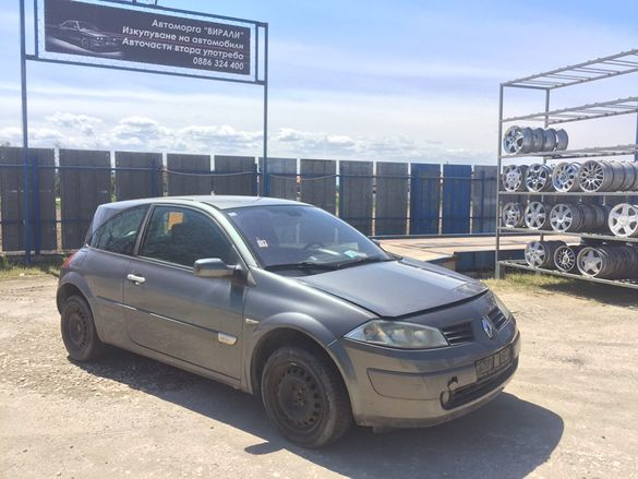Renault Megane 1.5dCi 101к.с на части