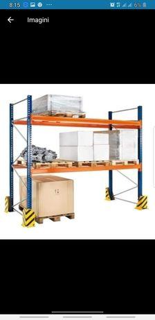 Vând rafturi metalice profesionale reglabile lichidare de stoc la