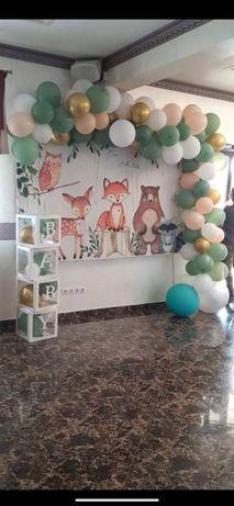 Panou decorativ+litere baby