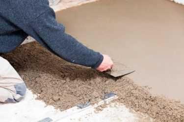 Песок крупный для стяжки