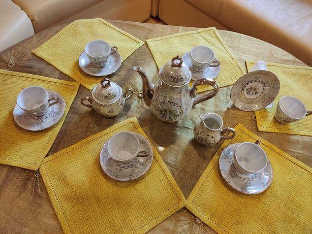 Set porțelan vintage japonez cu aur coloidal