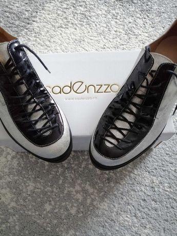 Pantofi noi de piele cadenzza