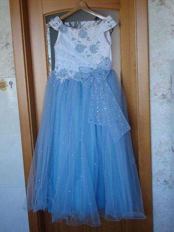 Продам бальное платье на девочку 10-12лет