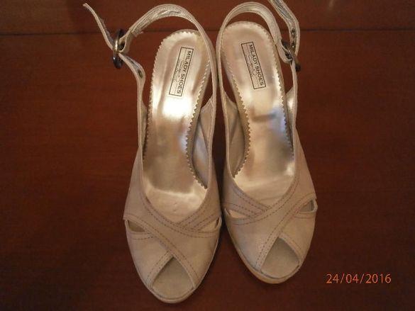Дамски елегантни сандали с ток 36 номер