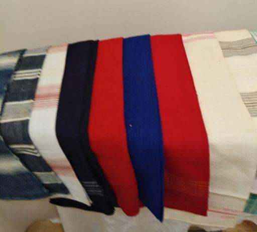 Автентични ръчно тъкани кърпи от чеиз различни разцветки. Разпродажба