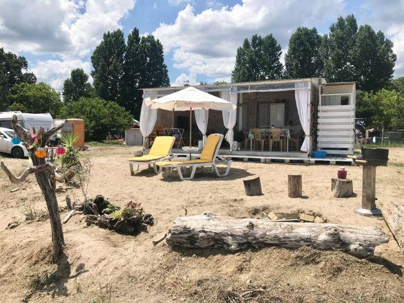 Нощувки каравана Китен Beach Cottage Camp Kiten