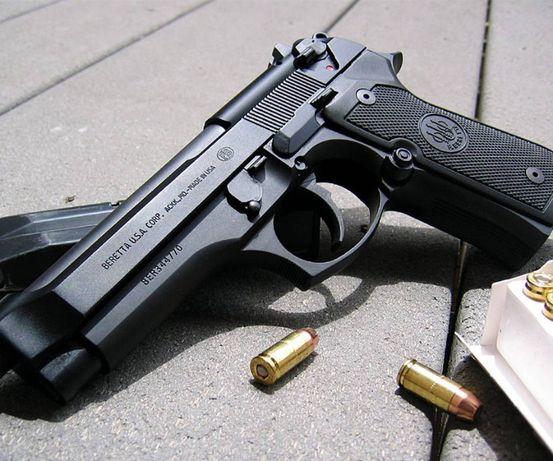 Pistol Airsoft--Calitate Superioara Beretta Modificat 4,3j# 190 m/s