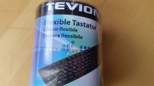 Tastatura PC flexibila