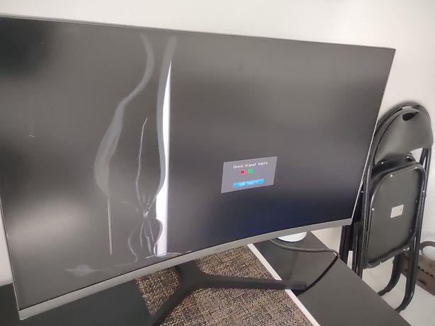 Monitor curbat Samsung LC27H800FCUXEN