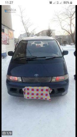 Автомобиль  Тойота люсида эстима полный привод учет кз.
