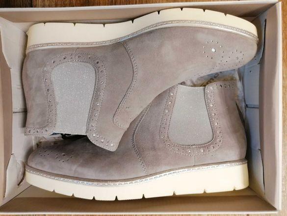 Дамски кожени обувки Tamaris 40 номер