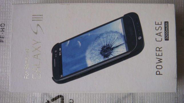 Samsung Galaxy S3 Power case cover 3200mAh