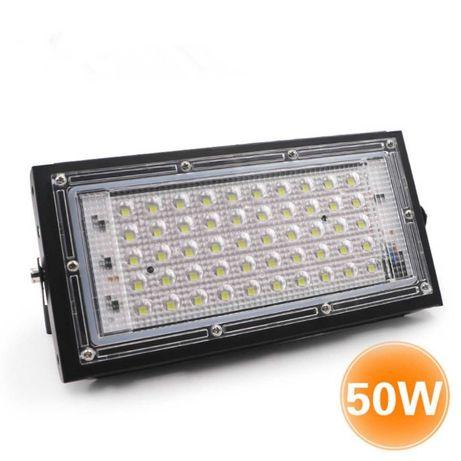 Lampa Proiector cu 50 Led SMD de 50W 12V Auto Camping Pescuit NOU