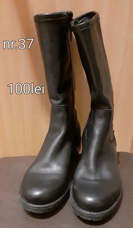 de vanzare cizme semilungi piele